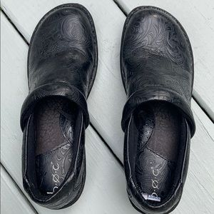B.O.C. Black shoes Made with comfort in mind EUC